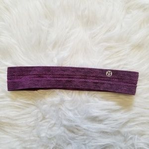 Lululemon Headband Purple and black